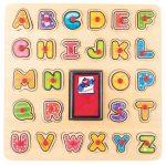 Pečiatky/Puzzle ABC