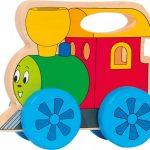 Mašinka na kolieskach s držadlom