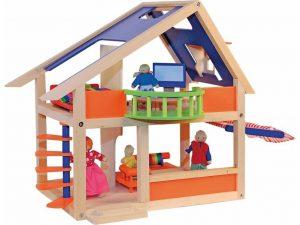 90821 Moderny domcek s markizou