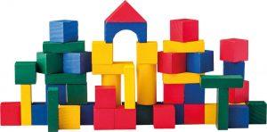 Stavebnica -  drevené kocky