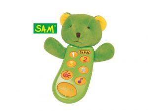 Detský telefón - Medvedík SAM