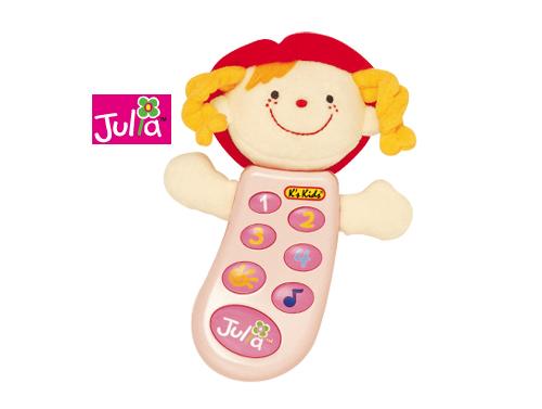 Detský telefón Julia - ružový