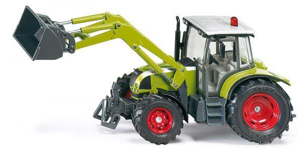 Traktor Claas s čelným nakladačom