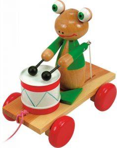 Ťahacia žaba s bubnom