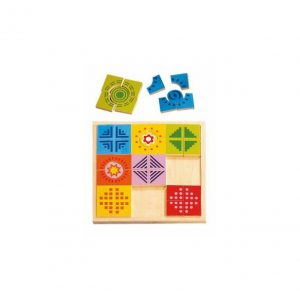 Puzzle dostičky - Rainbow
