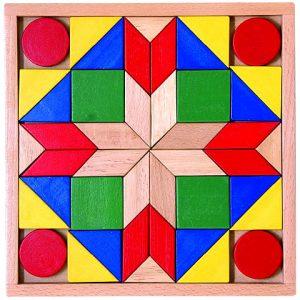 Drevená mozaika