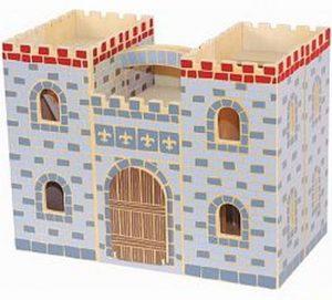 Drevený hrad - kufrík