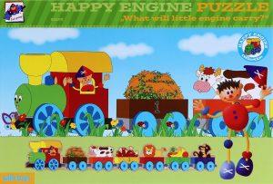 Drevené puzzle tvarové