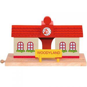 Príslušenstvo k dráhe - vlaková stanica Woodyland