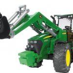 Traktor John Deere 7930 s nakladačom