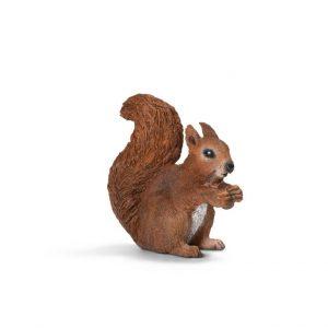 Zvieratko - veverička s orieškom