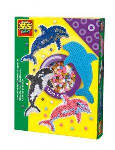 Zažehľovacie koráliky - Delfín