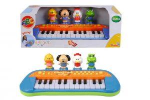 piano detske elektronicke Simba so zvieratkami
