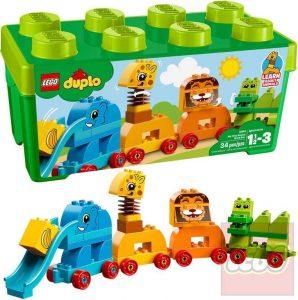 LEGO Duplo Môj prvý box so zvieratkami