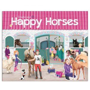 Kreatívny zošit Horses Dreams - Happy Horses
