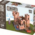 Stavanie z tehál - hrad