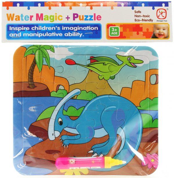 Vodné maľovanie - dinosaurus