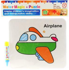 Vodné maľovanie - lietadlo
