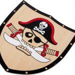 Pirátsky štít a meč Barbaros