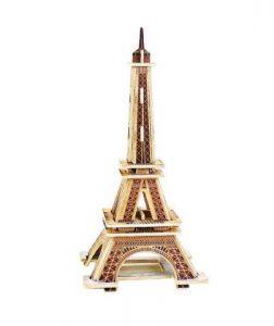 Drevená skladačka - Eifellova veža