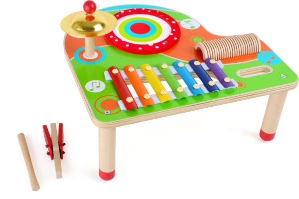 Hudobný drevený stolček Small Foot Legler LE10042