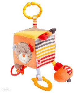 Detská motorická kocka - textilná