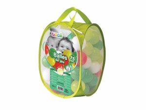 Loptičky zelené 75 ks