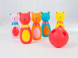 Bowling pre najmenších - Mačka