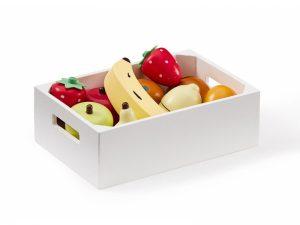 Ovocie v debničke drevené Bistro