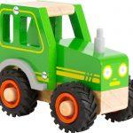Drevené auto - traktor