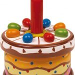 """Hracie hodiny """"Narodeninová torta"""""""