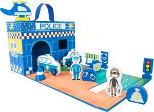 "Kufrík ""Policajná stanica"""
