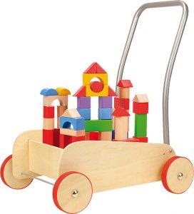 Vozík s kockami