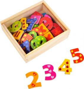 Farebné magnetické čísla