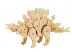 3D puzzle roboticka hracka Stegosaurus RoboTime