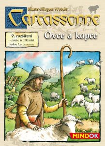 Carcassonne - Ovce a kopce (9.rozš.)