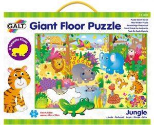 GALT Veľké podlahové puzzle Zvieratká v džungli