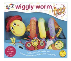 GALT Červík Pepík hračka na postieľku