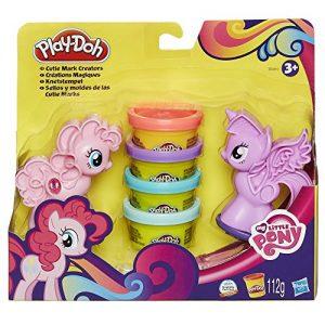 Plastelína Vytláčadlá v tvare poníkov My Little Pony Play Doh