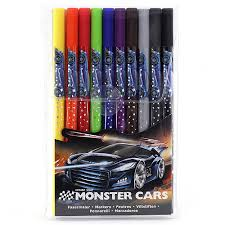 Fixky Monster Cars obojstranne