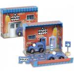 Zábavná hračka Box s autami - polícia Vilac V2365