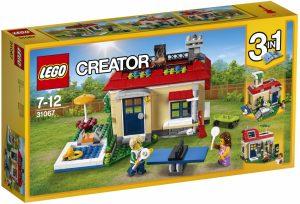 LEGO Creator Prázdniny pri bazéne 31067