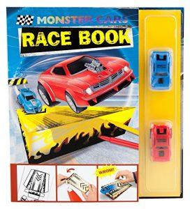 Papierova skladacka Monster Cars