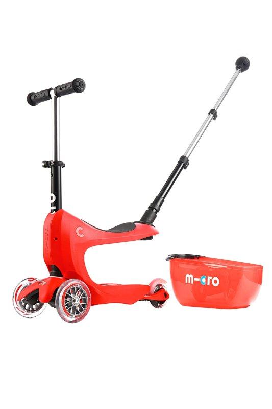 Detská kolobežka Micro Mini2go Deluxe+ red