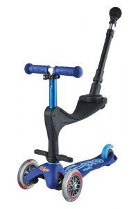 Detská kolobežka a odrážadlo Mini Micro 3in1 Deluxe Plus Blue