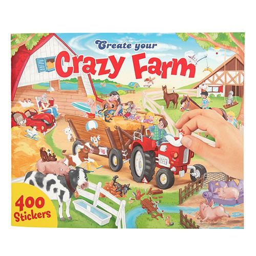 Kreatívny zošit Crazy Farm