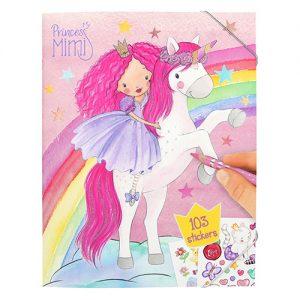 Maľovanky pre dievčatá Princess Mimi