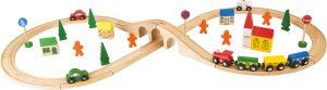 Velka drevena zeleznica pre deti Small Foot Legler LE1090