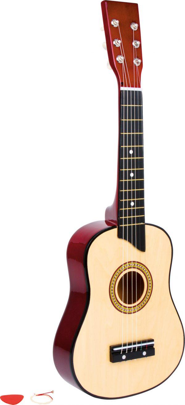 Drevena gitara natur Small Foot Legler LE3307