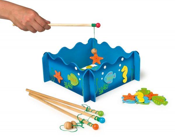 Drevená hra na rybolov Morský svet Small Foot Legler LE8196